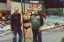Canadian Record for Alysha Newman – 4.65m on Jan. 21, 2017 at U of T